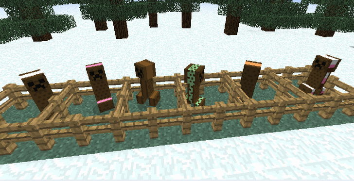 Мод для minecraft 1.6.2 —  IceCreamSandwichCreeper