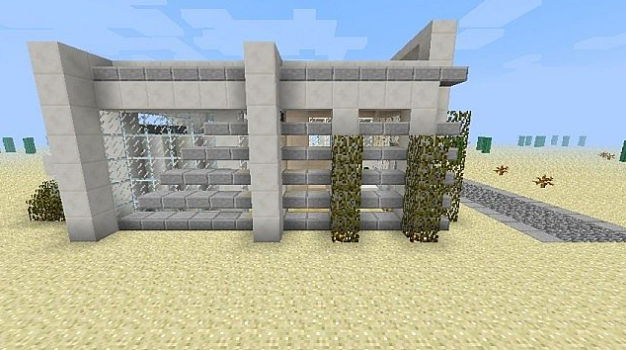 Карта для minecraft 1.5.2 — Modern House On