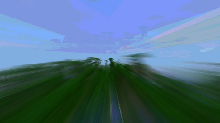 Мод для Мinecraft 1.6.1 — Motion Blur