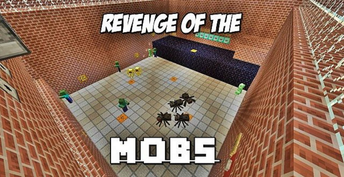 Карта для Minecraft 1.6.2 — Revenge Of The Mobs — Survival Waves