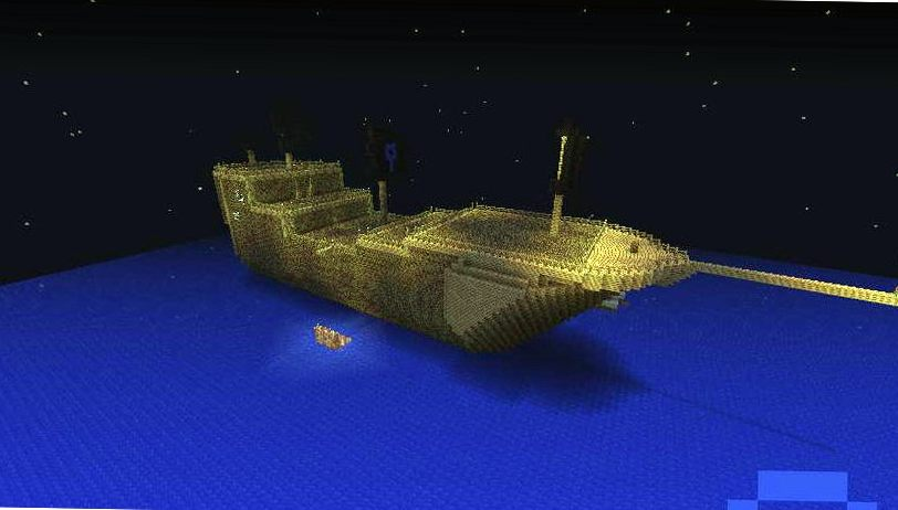 Карта для Minecraft — Nanobugs6s Pirate Ship