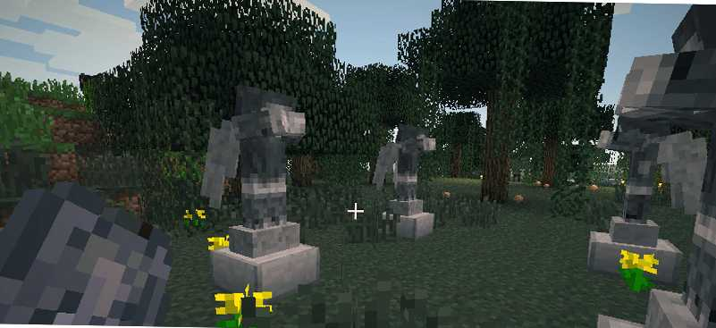 Weeping Angels мод для Minecraft 1.7.2, 1.6.4